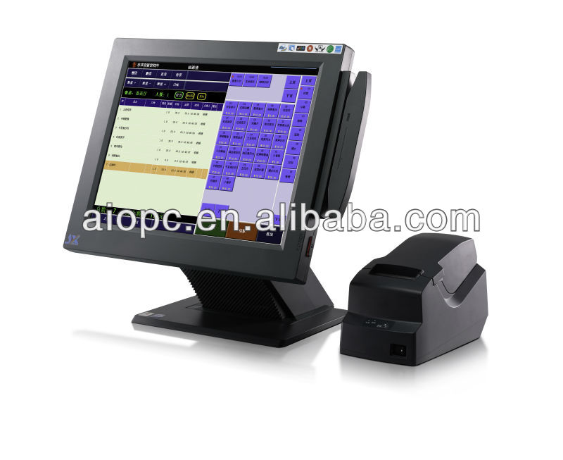 15 Inch LED Touch Screen All in One Android POS System