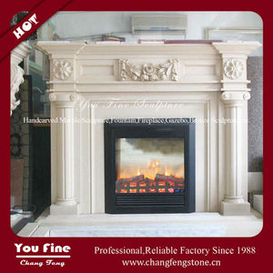 Natural Classic Marble Hearths for Sale