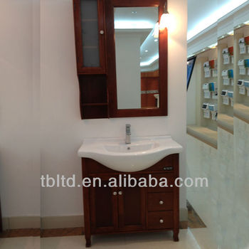Solid Wood Bathroom Cabinet,Led Bathroom Light Wall Mirror For ...