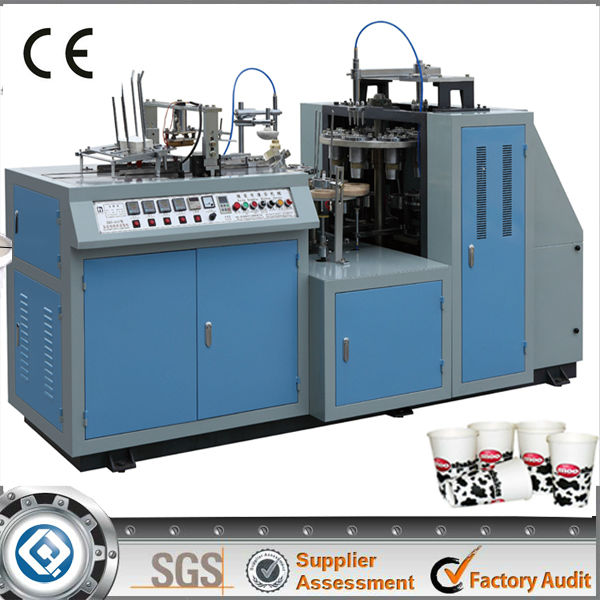 ZBJ-A12 Single PE Coated Paper Cup Machine taiwan