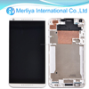 White Replacement LCD Display Touch Screen Digitizer + Bezel Frame For HTC Desire 816 D816
