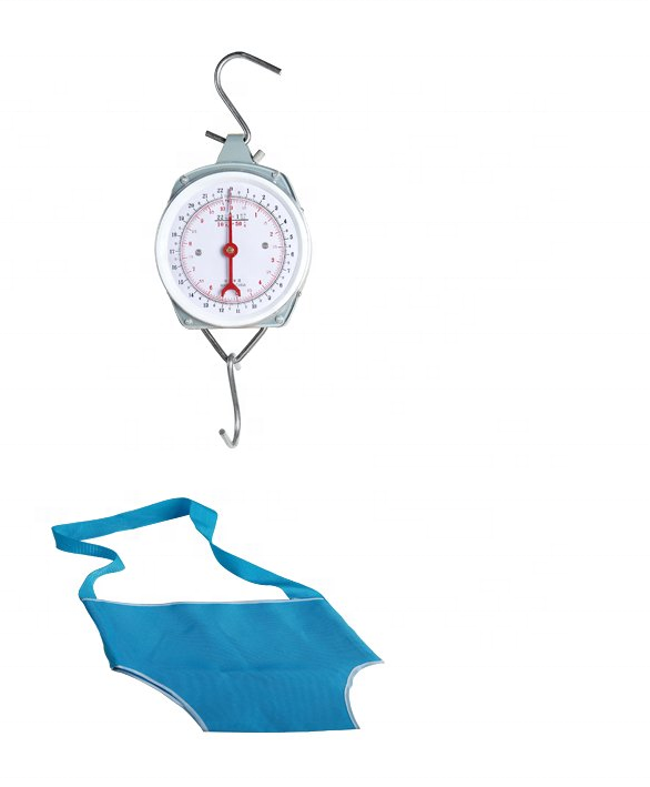25KG Portable Spring baby <strong>scale</strong> / mechanical hanging baby weight <strong>scale</strong> with baby bag for family PT-617