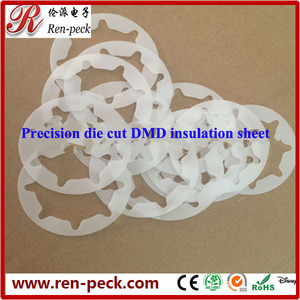 Precise die cut transformer winding insulation material with high quality