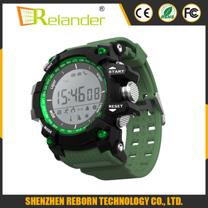 2017 New Bluetooth water resistant sports smart watch for swimming or diving