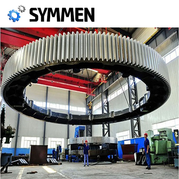 Astm45 Steel Casting Kiln Tyres Cement For Cement Rotary Kiln
