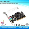 CMI8738 Chipset PCI media audio Card 4 channel PCI sound card