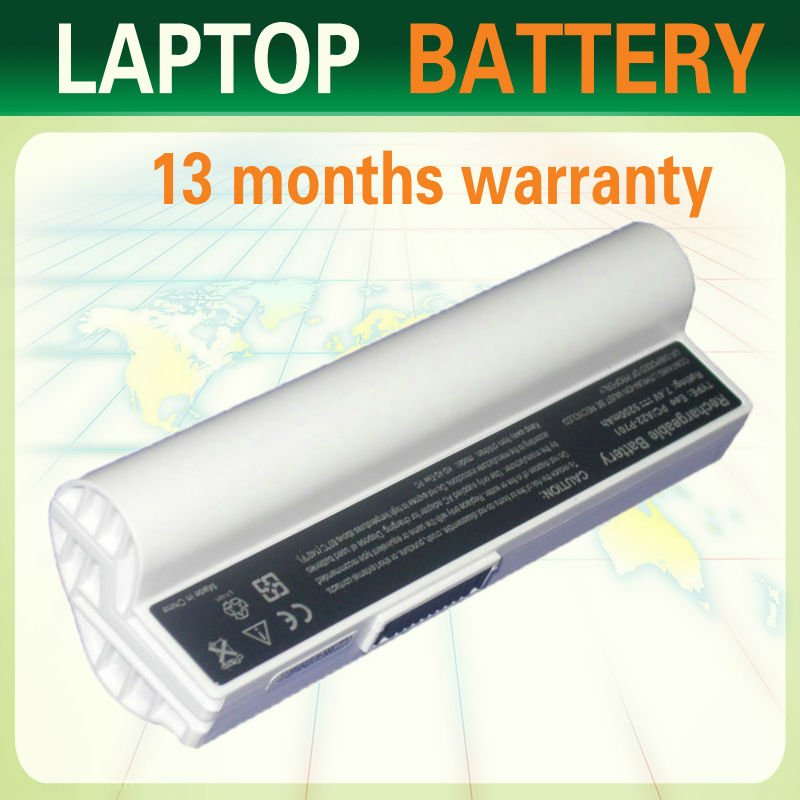 5200mah msds laptop battery li-ion battery pack for ASUS Eee PC series , 2G, 2G Surf, 4G, 4G Surf, 8G Notebook PC