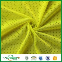 high visibility 100% polyester safety vest mesh fabric for police man suit