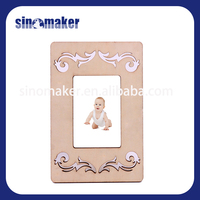 most selling products wood photo frame with engraving logo for australia