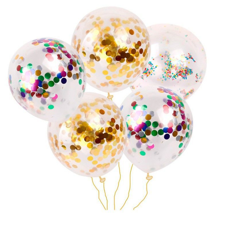 18 Inch New product Led Clear BOBO Balloon For Christmas and Party Decoration