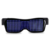 Event Party Supplies USB Rechargeable DIY Edit Message APP Glasses LED For Adult  Pub Party Flashing Plastic LED Glasses