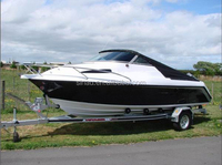 19ft fiberglass fishing boat yacht, wholesale frp fishing boat, fishing boat for sale