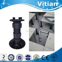 China supplier sells adjustable plastic deck support raised access floor pedestal
