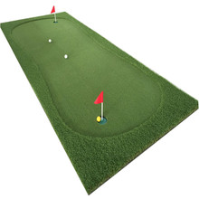 Decorativos tapete putting green, tipo portátil mini indoor golf putting green
