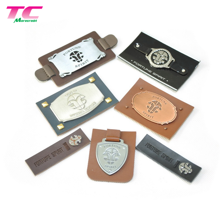 2019 New Trends Vintage Metal Brand Tag Custom Logo Sewing Label Metal Tags For Clothing