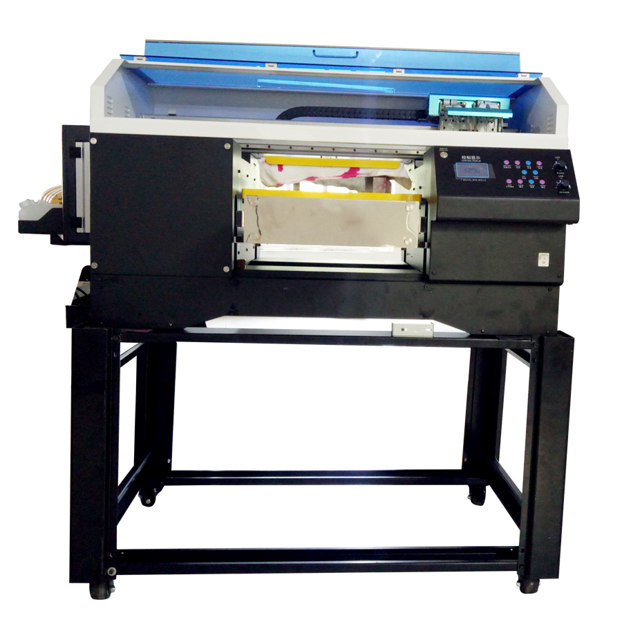 New Hot 3D Digital Wide Textile T-shirt Printer with Double Epson 5113 Head