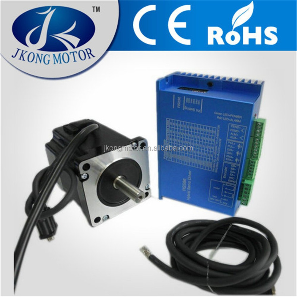 Nema34 Closed Loop Stepper Motor With Driver And 3m Cables ...