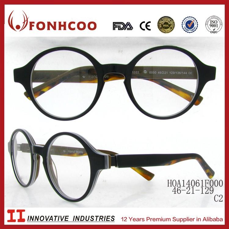 Fonhcoo Eyeglasses Children Colorful Painting Round Eyeglass Frames ...