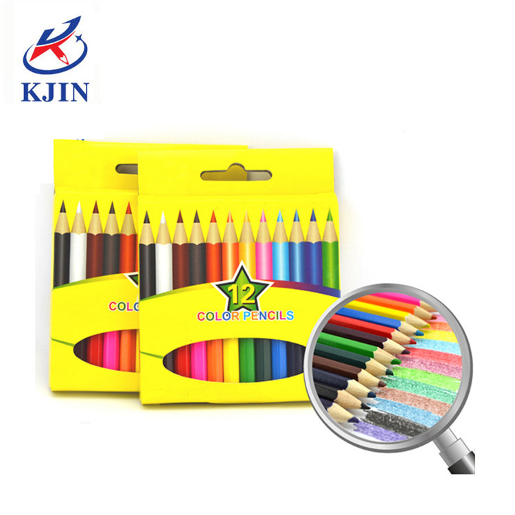 Amazon Hot Sale High Quality Professional Chinese Supplier 48 wooden premium color sketch pencil set