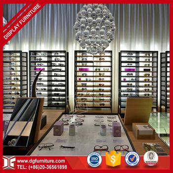 Luxury High-end Eyeglass Interior Shop Cash Counter Design