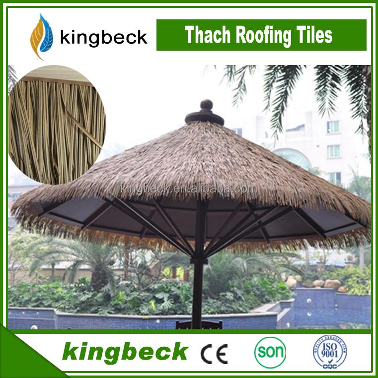 thatch roof gazebo cottage synthetic water reed leaf thatch roofing
