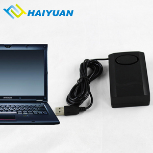 Laptop security anti-theft system computer usb cable lock with alarm