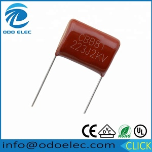 ODOELEC 0.022 uf 2000 v 223j 22NJ cbb81 metallized polypropylene film capacitors
