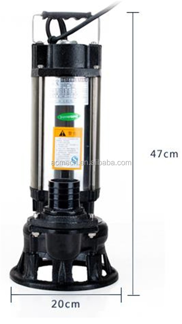 New type Stainless steel submersible sewage pump dirty water pump submersible pump