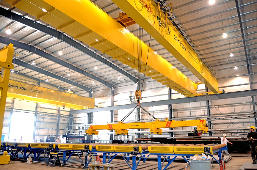 European Type Double Girder overhead crane02