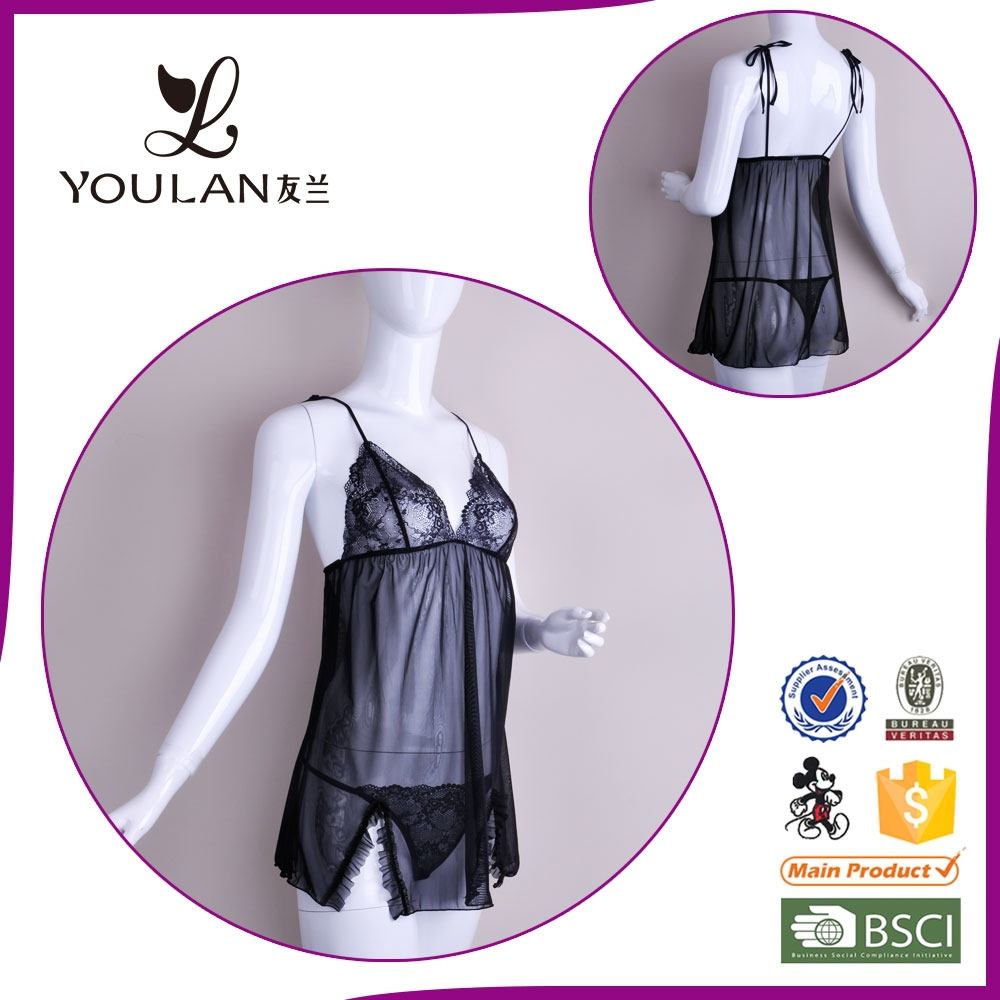 Young Lady Lace Fashion Sexy Babydoll Lingerie Xxl 2014 Sex Xxl