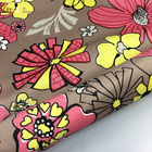 Middle East Floral Patterned Printed Velvet Fabric