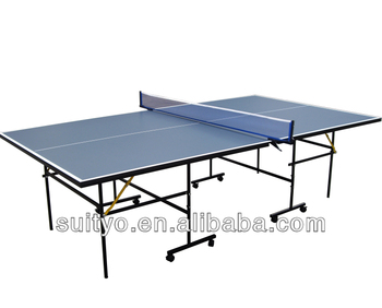 Modern Folding Table Tennis Table, Official Size Table Tennis Table