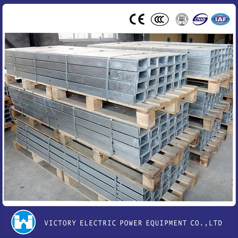 Wholesale Price OEM Electric Power Fittings Pole Line Hardware 33KV Transmmision Line Hot Dip Galvanized Cross Arm