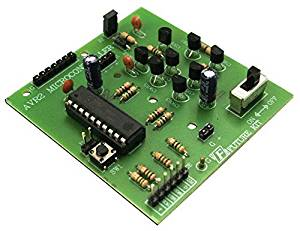 AVR2 Obstacle-Avoiding Robot Controller Electronic Circuit Kit: FA1110C
