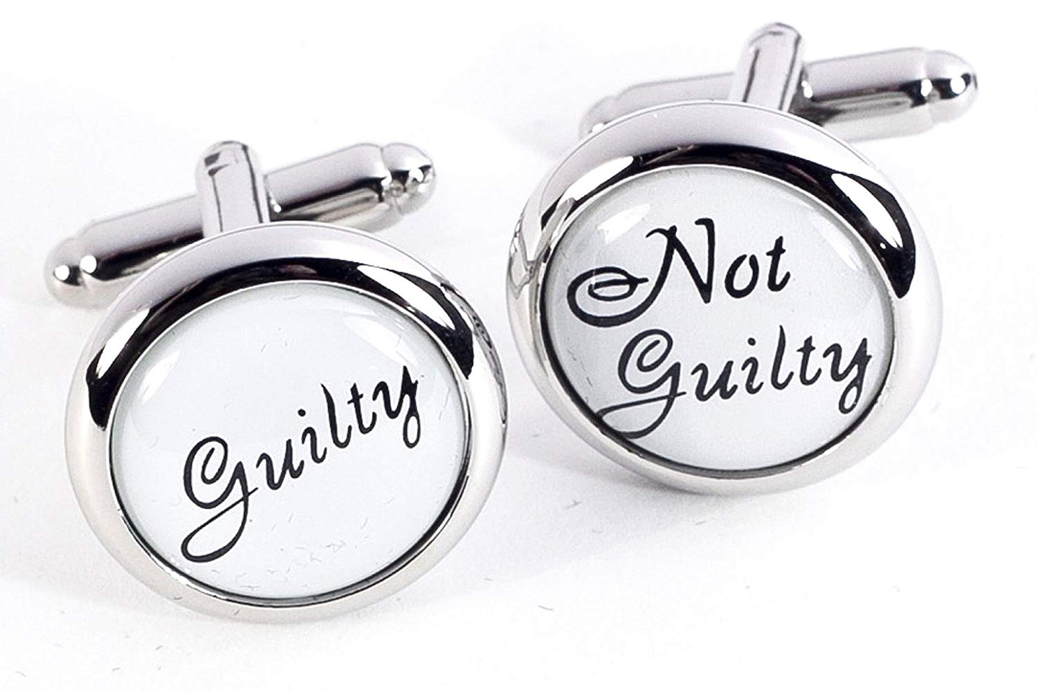 """Cuff Links - """"What's the Verdict?"""" Cuff Links - Legal - Lawyer Cufflinks - Mens Gifts"""