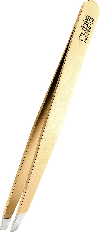 Rubis Switzerland Gold Slant Tweezer 1K1.03 by Rubis Switzerland [Beauty]