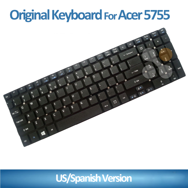 Laptop Keyboard for Acer 5755 E1-530 E5-521 V3-531 Laptop Black US Layout Keyboard