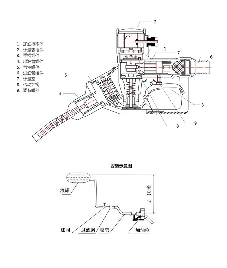 China Koeo Feel Right Oil Gun Diesel Fuel Injection Nozzle
