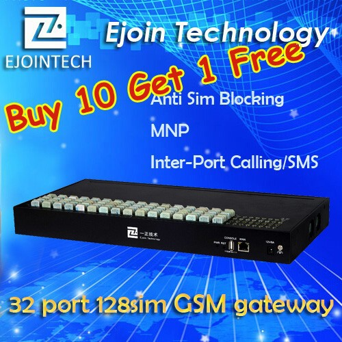 Buy 10 Get 1 Free!! Ejointech Goip 8/16/32 goip gsm gateway voip service provider