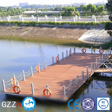 100% recyclable floating dock and pier