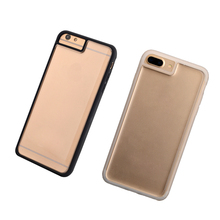 phone accessories universal clear mobile cover blank cell phone case