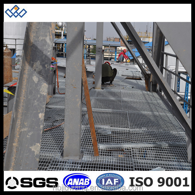 Walkway galvanized steel grating catwalk steel grating for Catwalk flooring