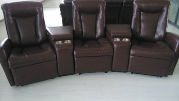 Luxury Home Theater Chair Recliner Leather Sofa Home Cinema Seats