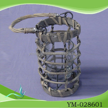 Wholesale china rustic garden iron frame lantern