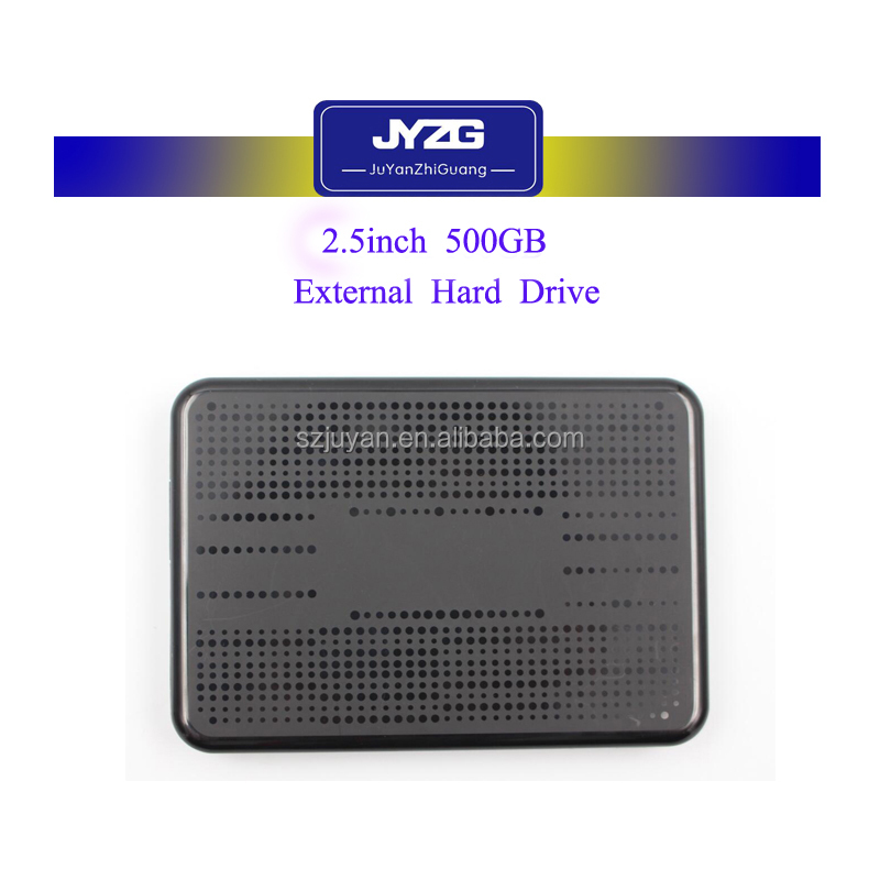 [Newest ]External Hard Drive USB3.0 2.5inch 500GB Black Case Portable Hard Disk
