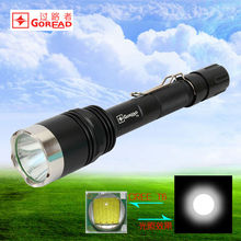 GOREAD Y8 High bright rechargeable tactical 10W XML T6 LED flashlight business gift