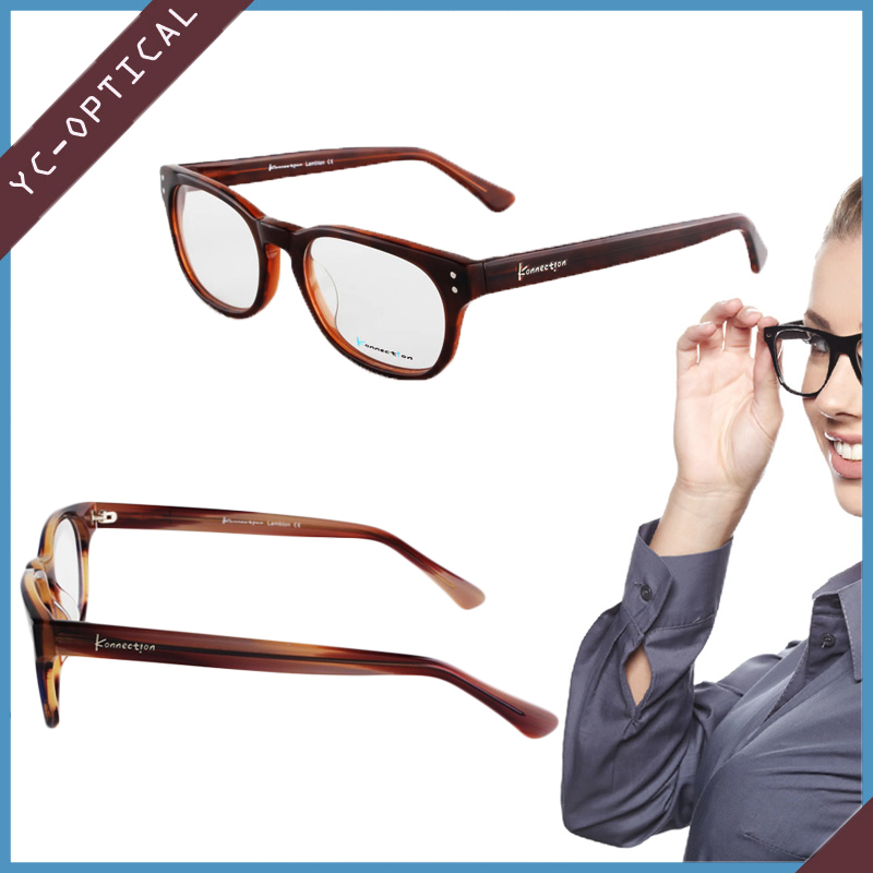 Latest fashion design acetate optical reading glasses frame for sale