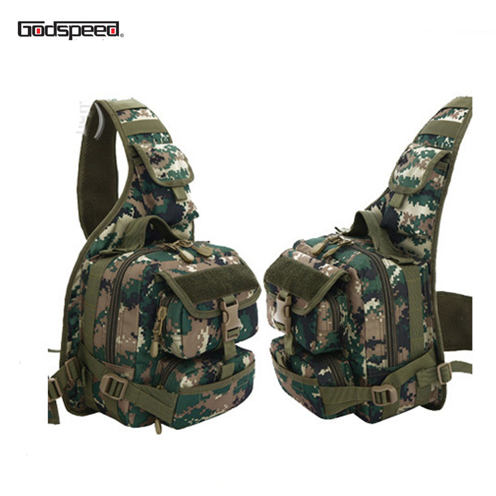 Camping & Hiking Latest Collection Of By Dhl Or Ems 50pcs Nylon Military Tactical Travel Hiking Riding Cross Body Messenger Shoulder Backpack Chest Waterproof Bag Climbing Bags