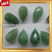 Wholesaler gemstone aventurine faceted teardrop