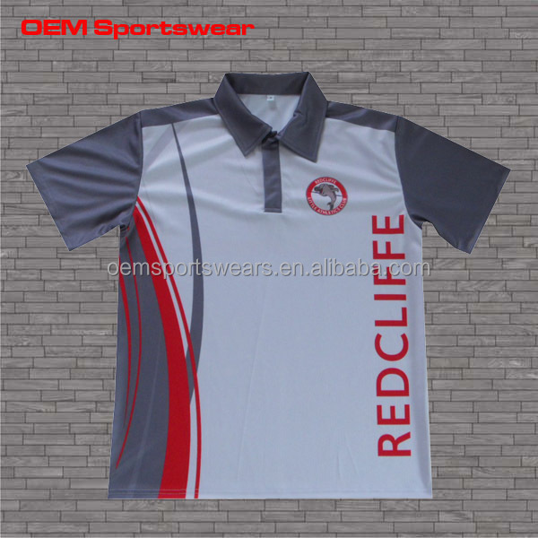 Top design golf custom polo shirt for men